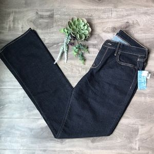 OLD NAVY Diva bootcut jeans - size 8 Long - NEW